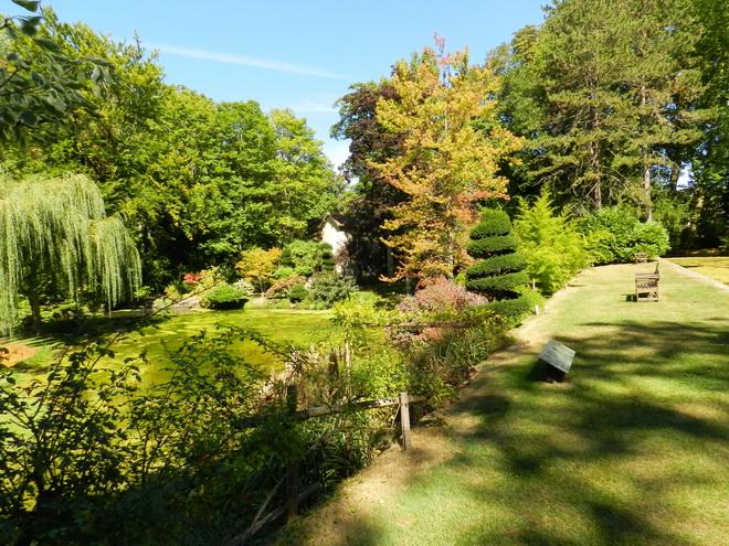 Jardin japonais 1 la r gion parisienne le bassin for Japonais rambouillet