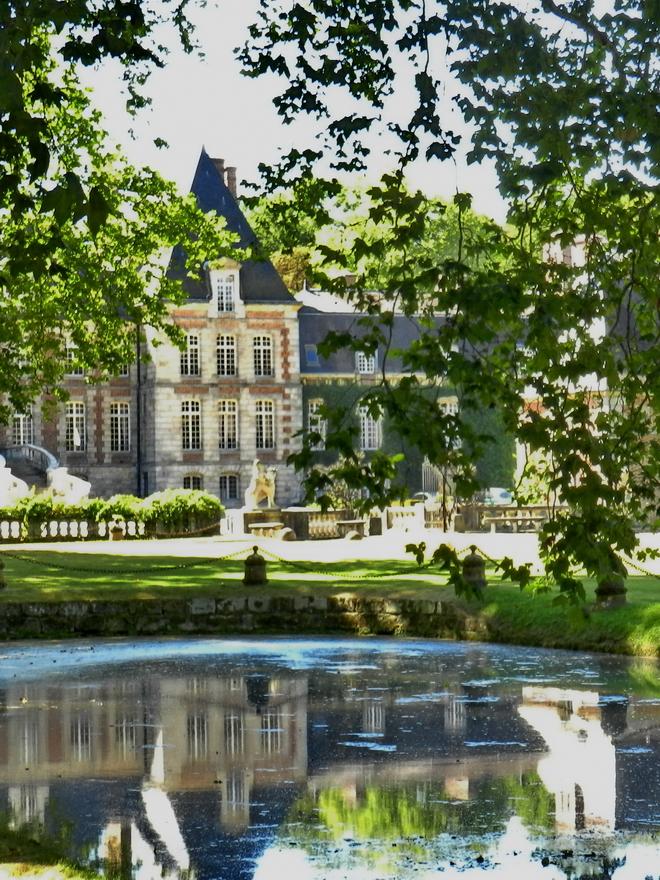 parc et chateau 8 la r gion parisienne le bassin parisien beaut et paysages de notre. Black Bedroom Furniture Sets. Home Design Ideas